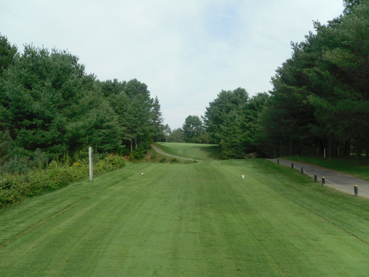 Hole 8 at the Nation Golf Club